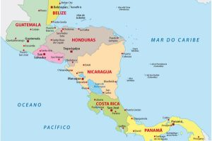 Central America, destinations