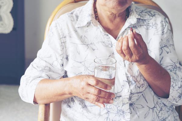 Asprin elderly person