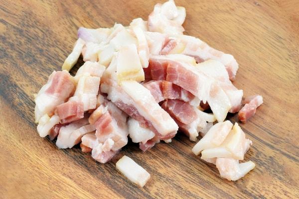 Nitrite in bacon