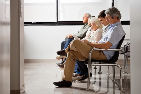A and E waiting times