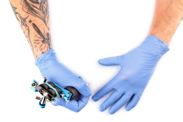 Tattoo parlour - risk of infection